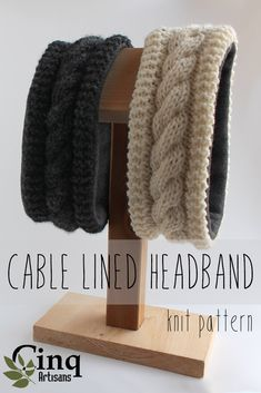 This Content For You Personally If You Value knitting patterns - Stirnband stricken Crochet Baby Hats Free Pattern, Knit Headband Pattern, Knit Or Crochet, Knitting Patterns Free, Knit Patterns, Free Knitting, Textiles, How To Purl Knit, Knitting Accessories