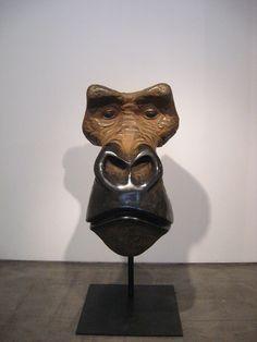 Quentin Garel Masque de gorille