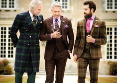 Mastering the three piece suit