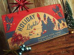 Fantastic Graphics  MidCentury Holiday Lights