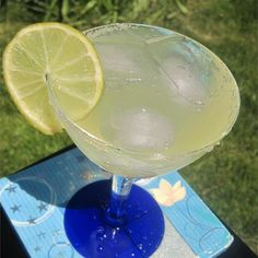 """Margaritas on the Rocks I """"We made these margaritas last night and they were GREAT! Not only did they taste great, they are so easy to make. I will never use another recipe again."""""""