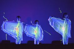 Daito Manabe, performance at Sónar, Barcelona, 2014. Photo: Toni Rosado   © scanner FM/Flickr