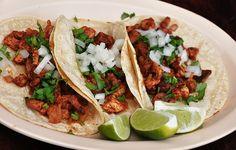 pollo asada street tacos