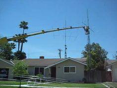 Benny's ham radio antenna and tower work