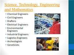 Career Clusters / Science, Technology, Engineering and Mathematics (STEM) Career Clusters, Stem Fields, Electrical Engineering, Mathematics, Environment, Science, Technology, Cards, Math