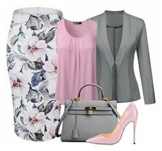 Women's Work Fashion Business Casual Outfits, Professional Outfits, Office Outfits, Classy Outfits, Chic Outfits, Beautiful Outfits, Modelos Fashion, Complete Outfits, Mode Outfits