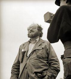 "Stanley Kubrick e Vivian Kubrick sul set di ""Full Metal Jacket"" (1987)"