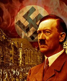 - Adolf Hitler was the leader of the Nazi party. -Hitler started off as a regular soldier that fought in WWI but then rised to become Germany's leader. - After causing WWII Hitler killed himself. Rothschild Rockefeller, Ideas Principales, Patriotic Words, Study Notes, Occult, World War, Martial Arts, Christianity, Pasta