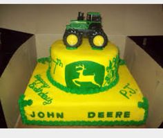 Tractor cake!!!
