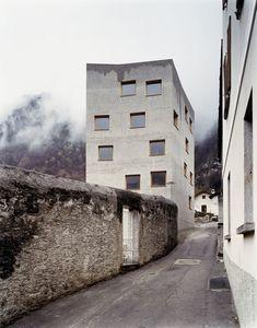 Miller & Maranta · Restoration and extension of the Villa Garbald. Castasegna
