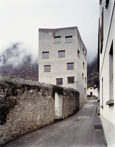 Miller & Maranta · Restoration and extension of the Villa Garbald. Castasegna