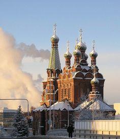 Orthodox Temple of Tampere, designed by T.U. Jasikov  Photo byJoe Carroll