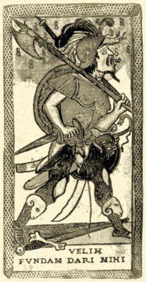 Leber-Rouen Fool card