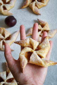 Barbie Magica Cuoca - blog di cucina: Girandole di sfoglia con marmellata di prugne