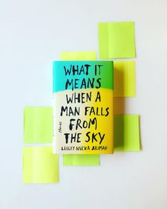 #MilkweedBooks crew @daleyfarr @hansweyandt and @celiamattison are all over the moon for @larimah's WHAT IT MEANS WHEN A MAN FALLS FROM THE SKY her brilliant debut collection of short stories out with @riverheadbooks this week! Pick up a signed copy in the store for sun-basking this weekend or join us for her @loftliterarycenter launch event on April 26th. And if you're part of our bookstore subscription service keep your eye on the mailboxthis is our latest selection!