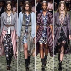 The @burberry collection was inspired by the interior designer Nancy Lancaster #LFW #spring2017 #collection #runwayshow #burberry #seenowbuynow #christopherbailey #creativedirector #inspiration #nancylancaster #art #model #printed #tbt #fashion #style #model