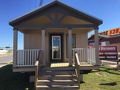 Tiny Home - Park Model RV: Ultimate Vacation Home or Weekend Getaway, 15 x 1 Bed, 1 Bath, 399 sq. Tiny House Kits, Tiny Houses For Sale, Tiny House Living, Tiny House On Wheels, Little Houses, Small Living, Living Spaces, Living Room, Prefab Cabin Kits