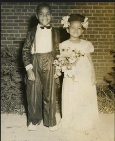 Tom Thumb Wedding African American