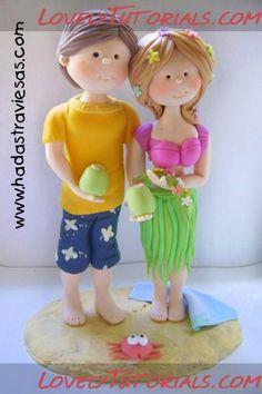 _couple at the beach, tutorials