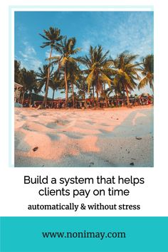 One of the most difficult things for businesses is when clients do not pay on time. With this automated strategy you'll never worry about it again! #automated #business #tips #clients #invoices #finance Make Money Blogging, How To Make Money, Promotion Tools, How To Get Clients, Online Income, Blogging For Beginners, Blog Tips, Content Marketing, Business Tips