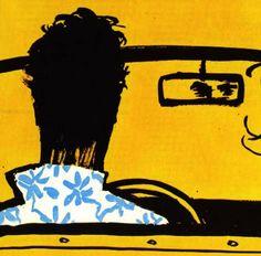 René Gruau illustrator 1950