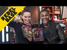 'Star Wars: The Force Awakens' Cast on Training for Roles - YouTube