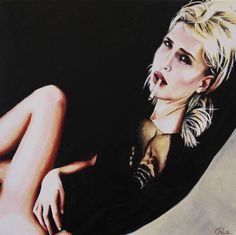 "Saatchi Art Artist Cindy Press; Painting, ""Time Out"" #art"