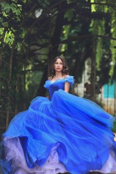 2015 New Cinderella Elegant Quinceanera Dresses Ball Gowns Sweet 16 Blue Prom Dress quinceanera 15 years vestidos de 15 anos