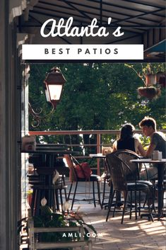 Atlanta is a city where time is best spent outdoors—eating delicious food and downing cold drinks, that is. Not only are there some amazing restaurants all around Atlanta, but some of them have really great patios to enjoy time with your friends and family over a unique dining experience.