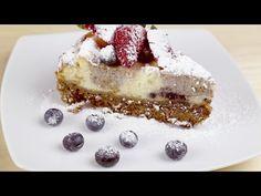 Cheesecake cu dulceata de afine (cu coacere) - YouTube Tiramisu, Biscuit, Gem, Cheesecake, Ethnic Recipes, Desserts, Food, Youtube, Tailgate Desserts