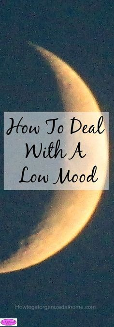Dealing with a low mood is difficult but there are steps you can take. Click the link to find out what they are!