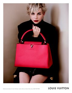 I am loving this hair cut!!! Photoshoot of the Day: Michelle Williams x Louis Vuitton Fall 2014 Campaign