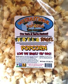 REVIEW: International Popcorn - Everything Bagel Popcorn