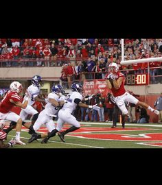Huskers Hail Mary vs Northwestern Going to remember that catch!!