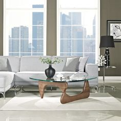 $360, Noguchi Coffee Table in Walnut - so weird cuz I had one of these years ago and thought it was so ugly!