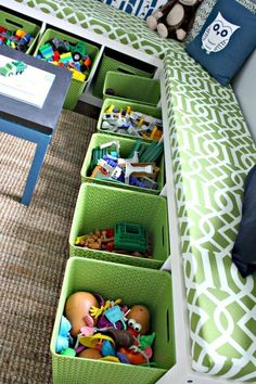 35 Beautiful Playroom Ideas for Girls and Boys  #playroom #ideas #playroomorganization