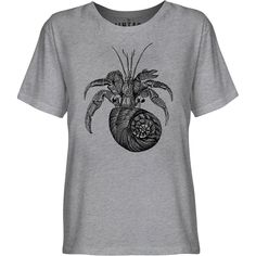 Mintage Hermit Crab Youth Fine Jersey T-Shirt