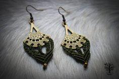 Custom Order Only Listing – Tribal earrings ethnic earrings, micromacrame, boho jewelry, macramé earrings, boho,ethnic jewelry