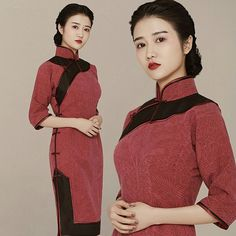 Cherries. #qipao #cheongsam #asian #chinesedress #mandarindress #chipao #classic #Oriental #chineseclothing #elegant #elegente #tailormade #haute