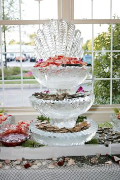 Springfield Country Club - Seafood Ice Sculpture