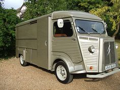 Citroen HY VAN, left-hand-drive, Currus conversion with semi-long wheelbase longer than standard wheelbase), single Citroen Type H, Citroen H Van, French Classic, Classic Cars, Camper Van, Cars And Motorcycles, Recreational Vehicles, Automobile, Vintage Food