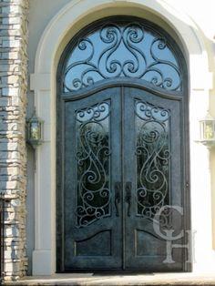 Showcase of Wrought Iron Door   Custom Designed Iron Doors   Bronze Doorways   Wine Cellar Doors   Clark Hall Iron Doors Charlotte, NC