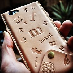 #shawn_megu iPhone 6 leather cover