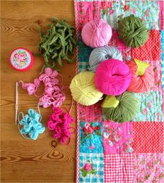 Coco Rose Diaries: Bright Colours Pretty colours in this patchwork