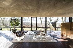 Casa de vidro Philip Johnson (Foto: Randy Harris/The New York Times)