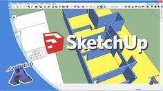 Curso de SketchUp – Módulo Intermediário – Aula 06/29 Paredes – Autocria...
