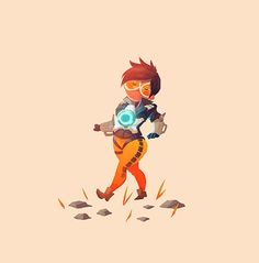 Overwatch: Best Friends Art Prints - Created by Olly MossAvailable for sale at his shop today only!
