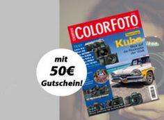 """Color Foto: Halbjahresabo mit 8,60 Euro Gewinn dank Fotokoch-Gutschein https://www.discountfan.de/artikel/lesen_und_probe-abos/color-foto-halbjahresabo-mit-gewinn.php Freunde der Fotografie kommen mit diesem Halbjahresabo voll auf ihre Kosten: Die """"Color Foto"""" gibt es für 41,40 Euro frei Haus, im Gegenzug lockt ein Gutschein über 50 Euro bei Fotokoch.de – verbleibt unter dem Strich also ein Gewinn von 8,60 Euro. Color Foto: Halbjahresabo mit ... #Abo, #"""