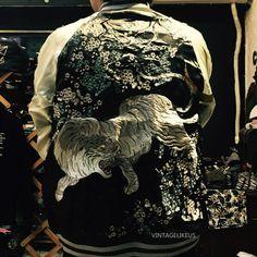 Sukajan Embroidered Bamboo Tiger Reversible Souvenir Bomber Jacket M   Clothing, Shoes & Accessories, Men's Clothing, Coats & Jackets   eBay!