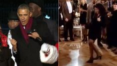 We can't stop watching President Obama doing The Elaine Dance